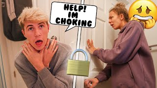 Choking with the Doors Locked!…