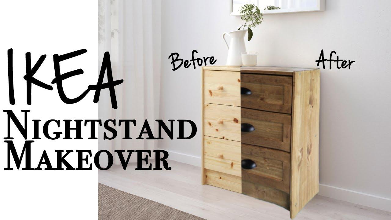 The Easiest Ikea Rast Hack! ~ DIY Ikea Nightstand Makeover ...