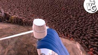 Битва 10 000 Орков Против 5000 Рыцарей У Хельмовой Пади! - Ultimate Epic Battle Simulator Gameplay-1