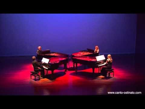 Canto Ostinato live in Veldhoven 2012 by Piano Ensemble