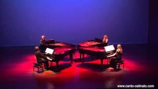 Canto Ostinato live in Veldhoven 2012 by Piano Ensemble