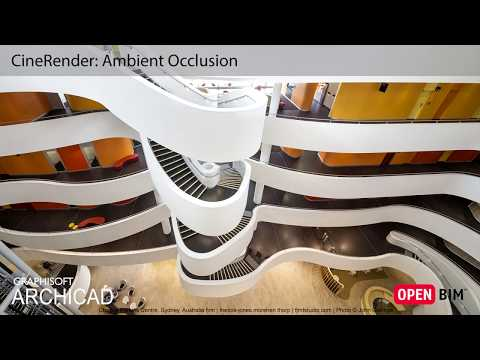 ARCHICAD 21 - CineRender: Ambient Occlusion