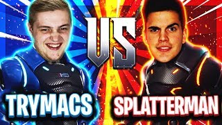 🤯🔥TRYMACS vs SPLATTERMAN! | 1vs1 Duell der Giganten! | Fortnite Xtrem ESports