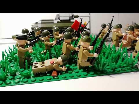 Лего самоделка #37 атака красной армий