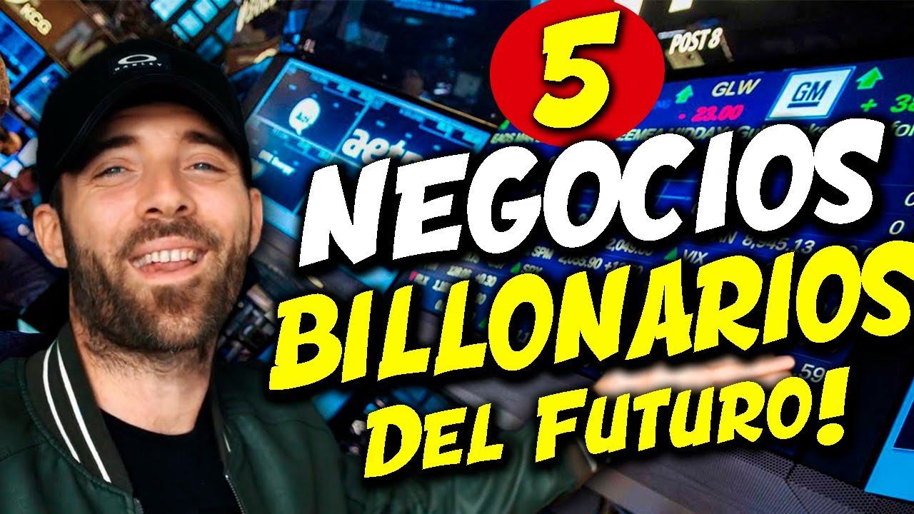 Los NEGOCIOS MÁS RENTABLES del Futuro - Recomendaciones