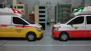 헬로카봇 구급차 장난감 변신 Hello Carbot embulance robot toys transformation
