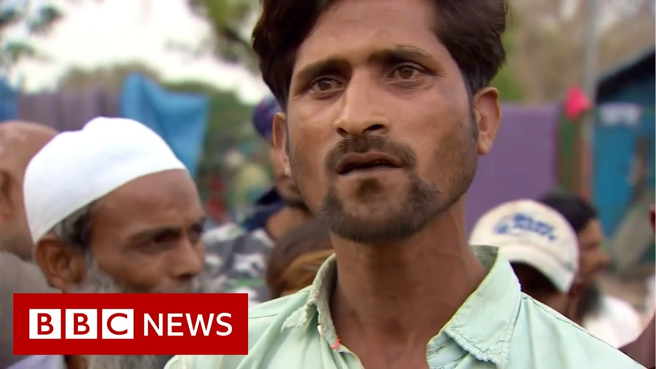 Locked down India struggles as workers flee cities - BBC News