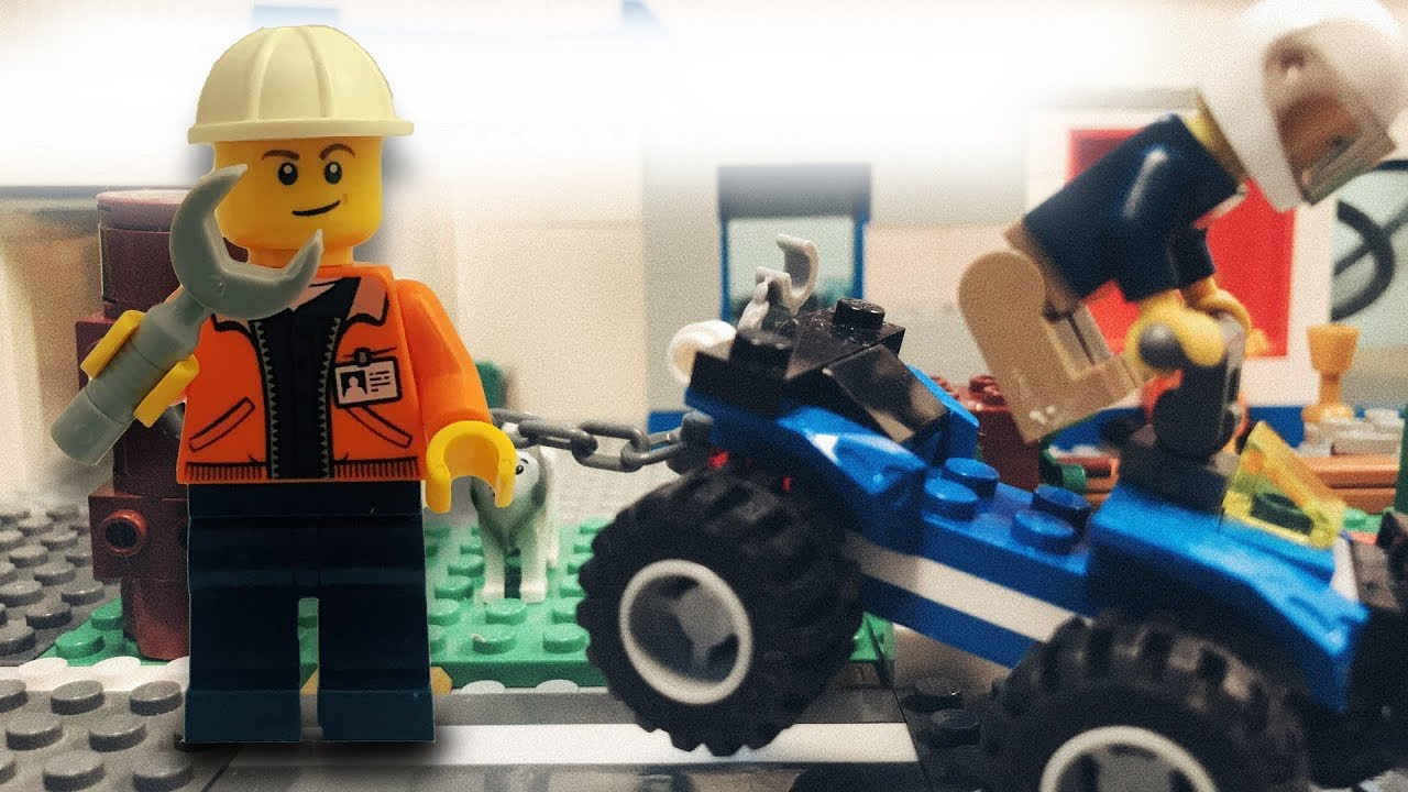 Lego Clumsy Repairman in City