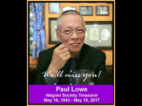 Paul Lowe Tribute