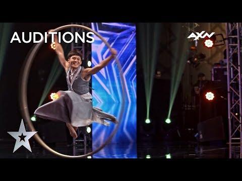 MESMERISING Acrobatic Performance Impresses EVERYONE   Asia's Got Talent 2019 on AXN Asia