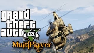 GTA 5 Online - All Easy Helicopter Locations (GTA V Online Multiplayer)