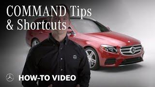 Mercedes-Benz COMAND Tips and Shortcuts