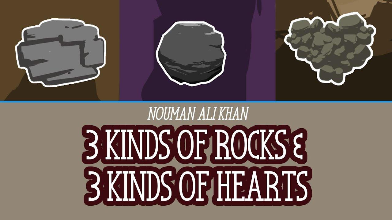 3 Kinds Of Rocks Amp 3 Kinds Of Hearts