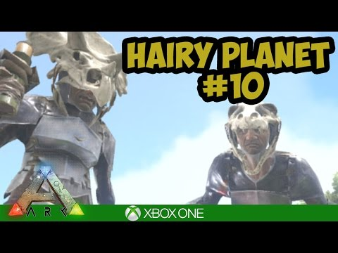 Ark Xbox: Underwater Drop Hunting! Hairy Planet #10