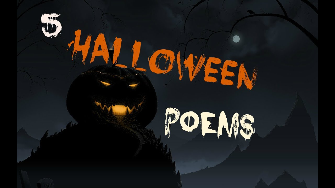 shivering tales 5 halloween poems youtube