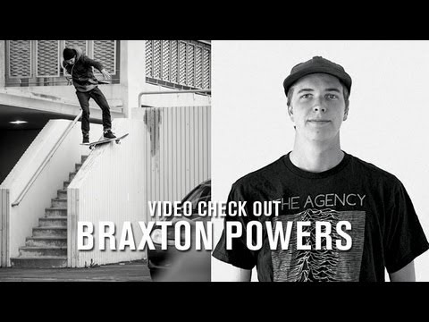Video Check Out Braxton Powers - TransWorld SKATEboarding