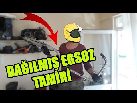 700 TL MOTORUN EGSOZUNU ONARDIK VE ATÖLYE TEMİZLİĞİ YAPTIK!!