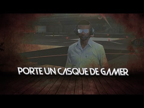 glitch gta online porte un casque de gamer youtube. Black Bedroom Furniture Sets. Home Design Ideas