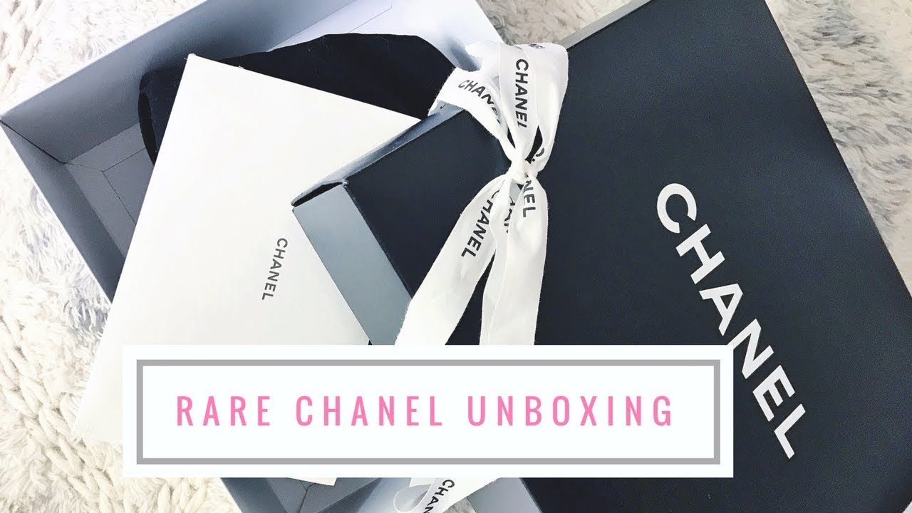 e82180ec7301 Chanel Unboxing 2017 | Super Rare Runway Chanel Bag !!! - YouTube