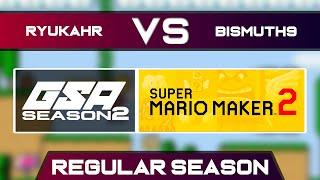 ryukahr vs Bismuth9 | Regular Season | GSA SMM2 Endless Mode Speedrun League DB Season 2