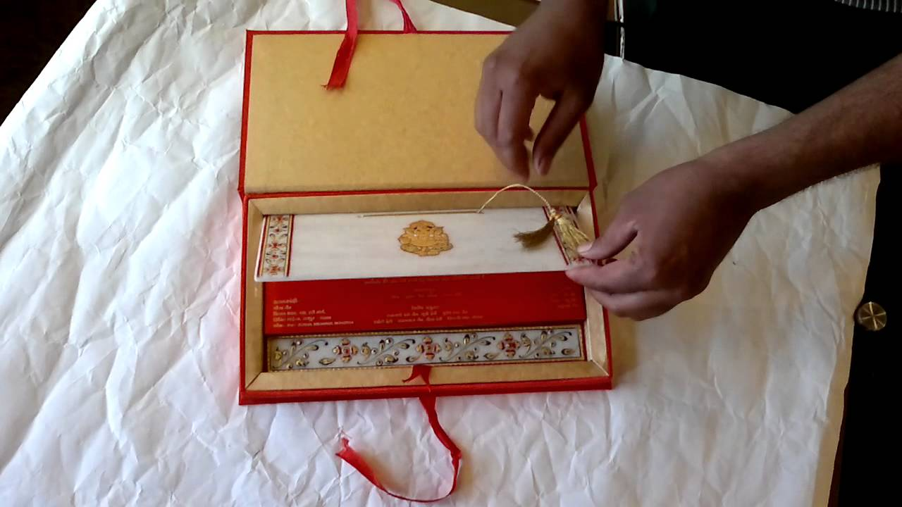 Exclusive Designer Wedding Cards offered by Shubhankar Wedding Cards ...