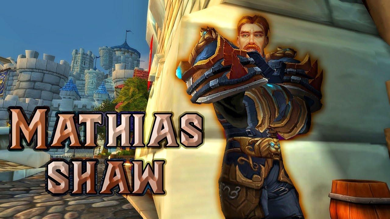 The Story of Shaw, Mathias Shaw, the James Bond of Warcraft! [Lore] thumbnail