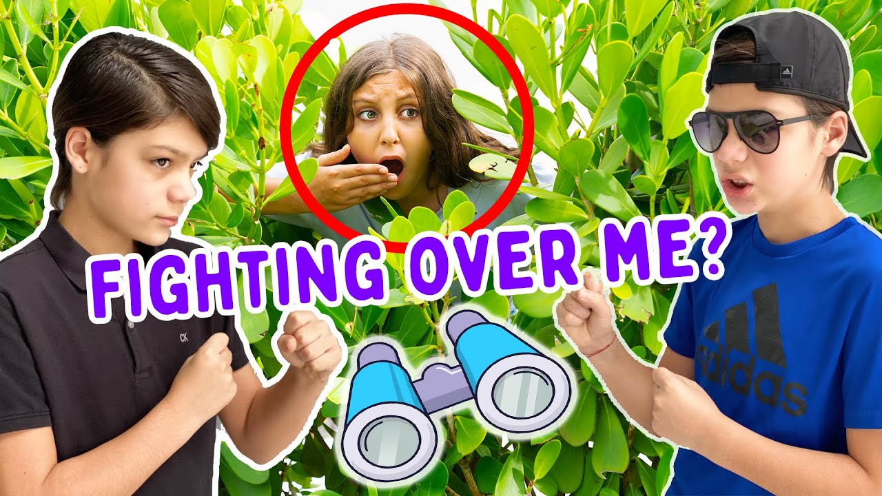 Spying on MYSTERY TWINS for 24 hours - did they fight over me?