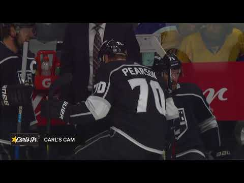 Pearson loses skate blade, gets some help