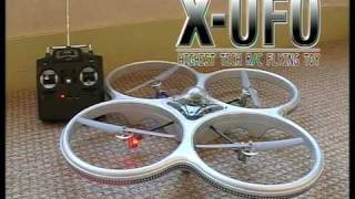 Flying Toys Silverlit R/C X-UFO Subtitled