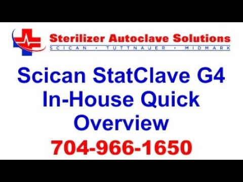 Scican Statclave G4 In-House Quick Overview