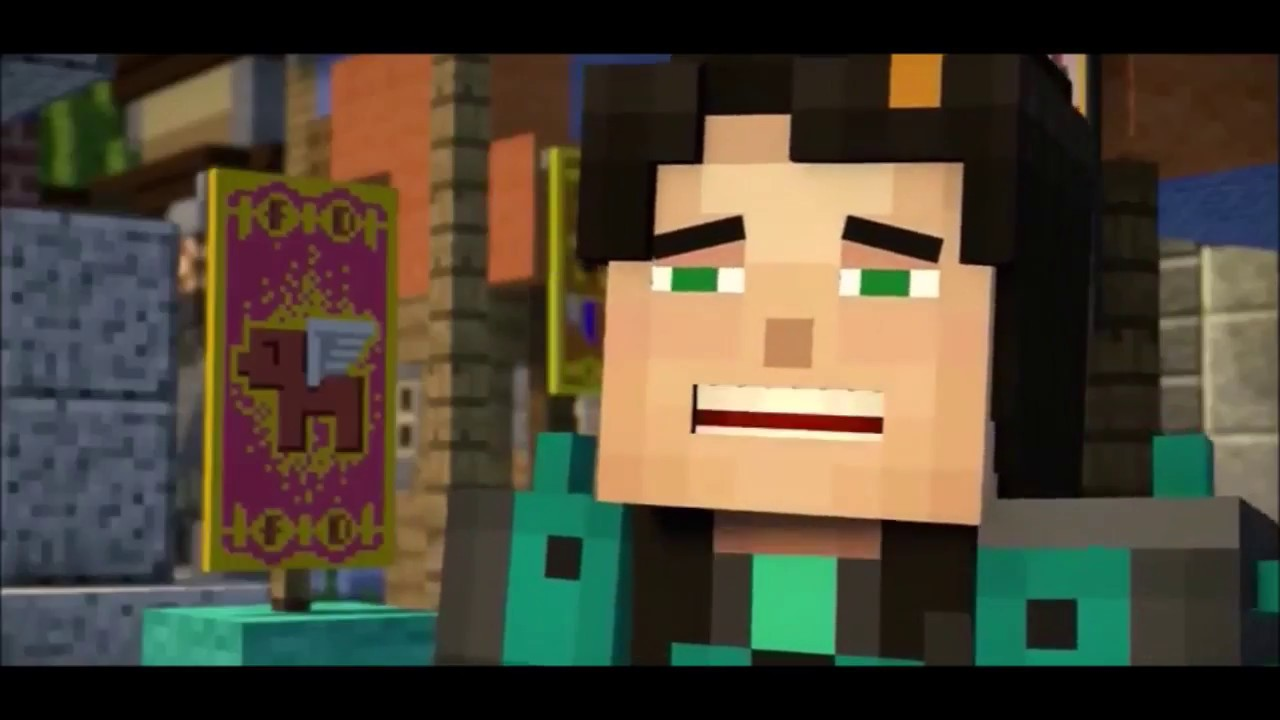 Lukas X Jesse If Only Minecraft Story Mode Youtube