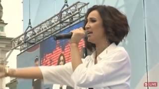 Ольга Бузова. Концерт на Дворцовой площади 12 июня 2017 г.