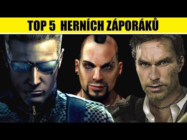 TOP 5 největších herních ZÁPORÁKŮ