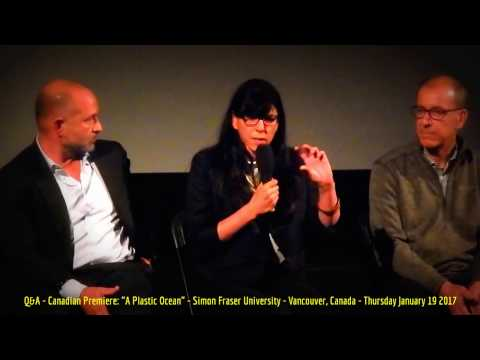 HiMY SYeD - A Plastic Ocean, Q&A Panel Discussion, Simon Fraser University, Vancouver BC Jan 19 2017