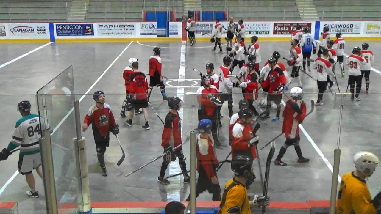 2017 Interior Cup Ball Hockey Tournament B Div Edmonton Havok Vs