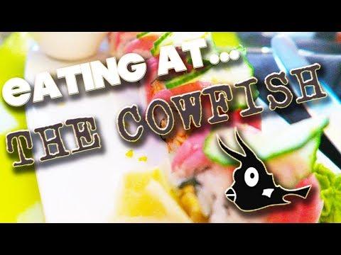 EATING AT - THE COWFISH - UNIVERSAL CITYWALK ORLANDO - FLORIDA