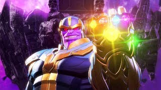THANOS Boss Fight - Marvel Ultimate Alliance 3: The Black Order @ 1080p ᴴᴰ ✔