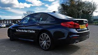 The New 2017 BMW 5 Series Review! What a car! Our first look!