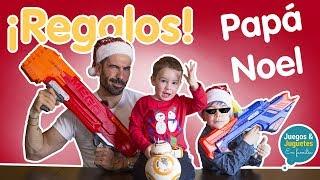 Llega PAPÁ NOEL y abriendo REGALOS 🎁 de NAVIDAD // Los Familukis