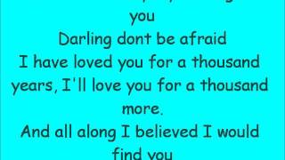 Christina Perri - A Thousand Years (Lyrics) + Download link