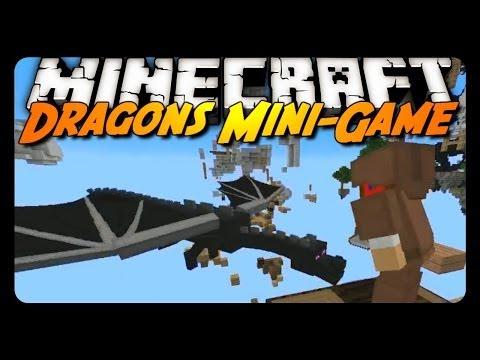 Minecraft: DODGING ENDER-DRAGONS! (Mineplex Dragons Mini-Game)