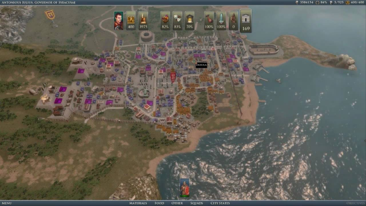 how to use the grand ages rome map editor