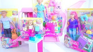 Barbie dreamhouse adventures  Pink passport New goodies toys unboxing