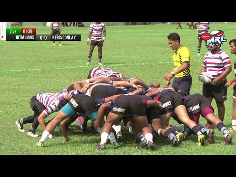 2017 AIRASIA MALAYSIA RUGBY LEAGUE - Premier Semi Final 2 - UITM LIONS VS KERIS CONLAY