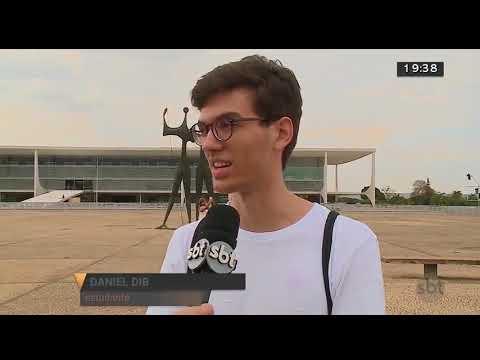 Fotógrafo que é deficiente visual ganha exposição | Jornal SBT Brasília 09/08/2018