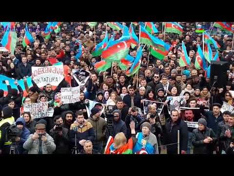 Milli sura ve musavat partiyasinin birge mitinqi 03 2018