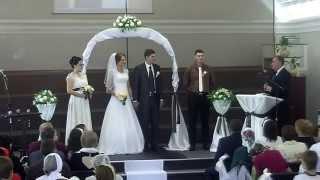 Свадьба, наставление молодоженам 19.09.15