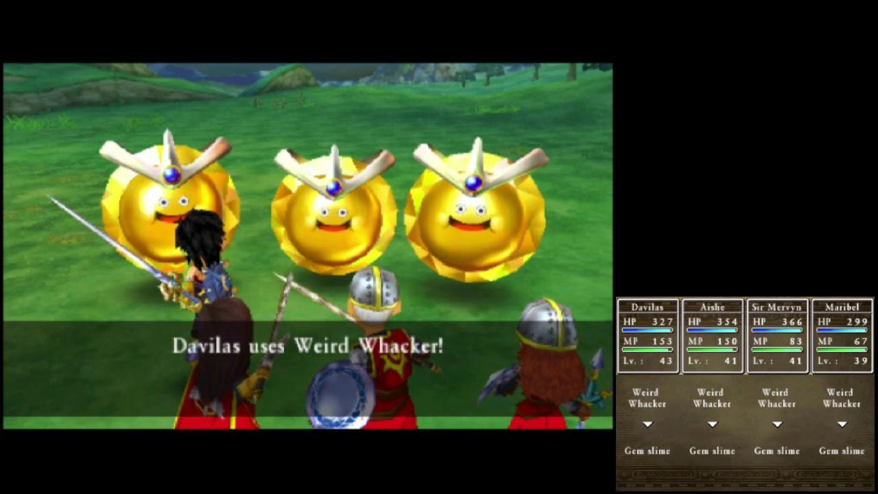 Dragon Quest Vii 3ds Playthrough 164 Gröndal Hunting 3 3 Metal King Slime Heart Youtube
