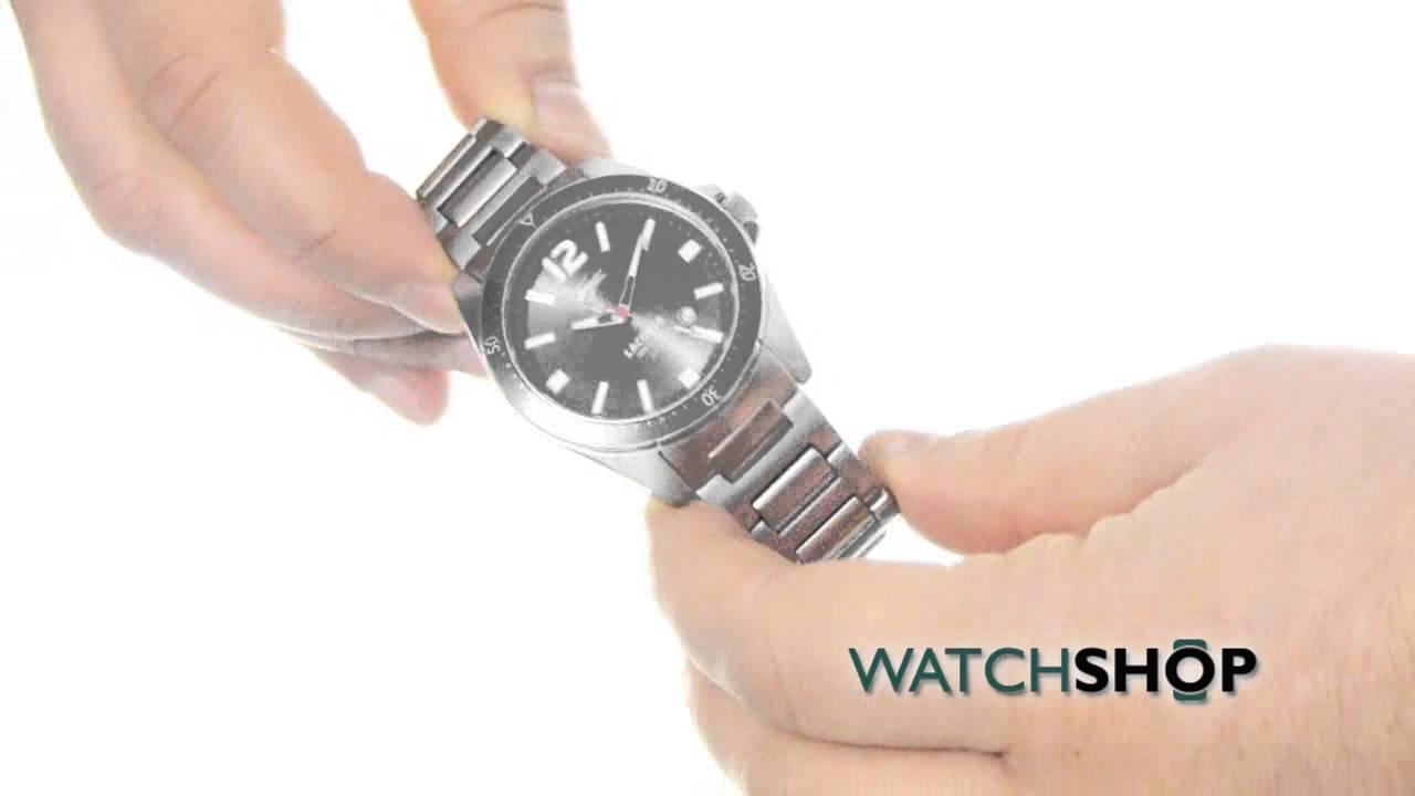 f5adf0f42e3 Lacoste Men s Seattle Watch (2010638) - YouTube