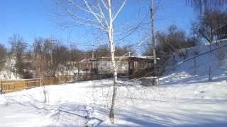 Паскивка зимой. Paskivka. Аренда домов Канев.(, 2014-02-13T13:14:37.000Z)